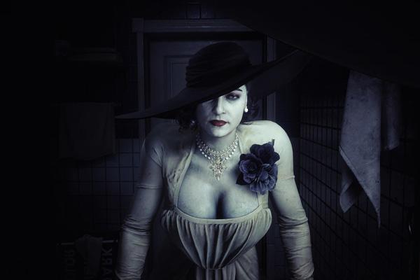 《生化3重制》吸血鬼夫人Mod来啦 吉尔变得又白又大1